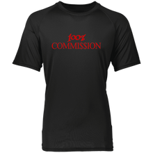 Load image into Gallery viewer, 100% Commi$$ion T Shirt - Red Letters