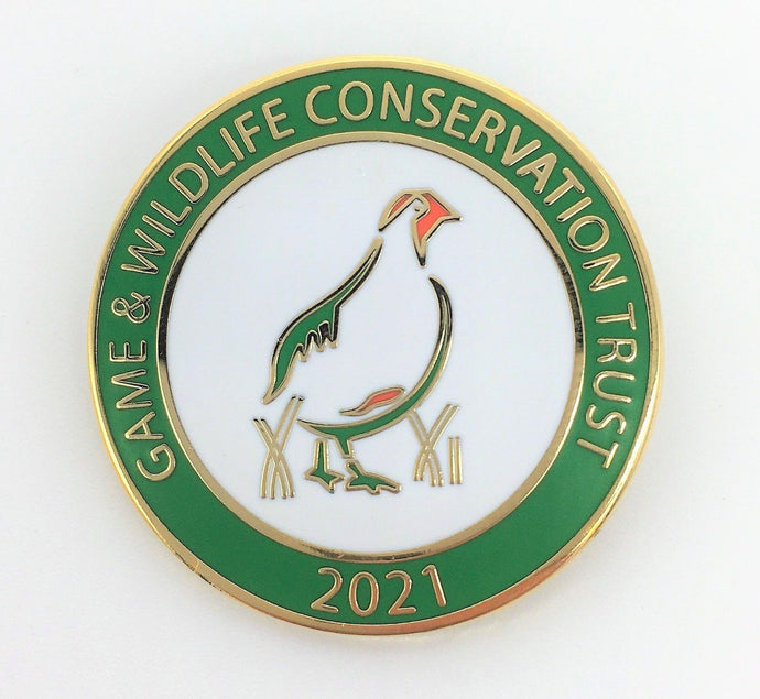 Show your support for the GWCT with our brand new 2021 badge