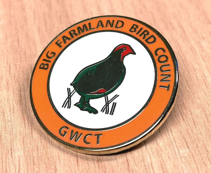 New badge to help raise awareness of important bird count