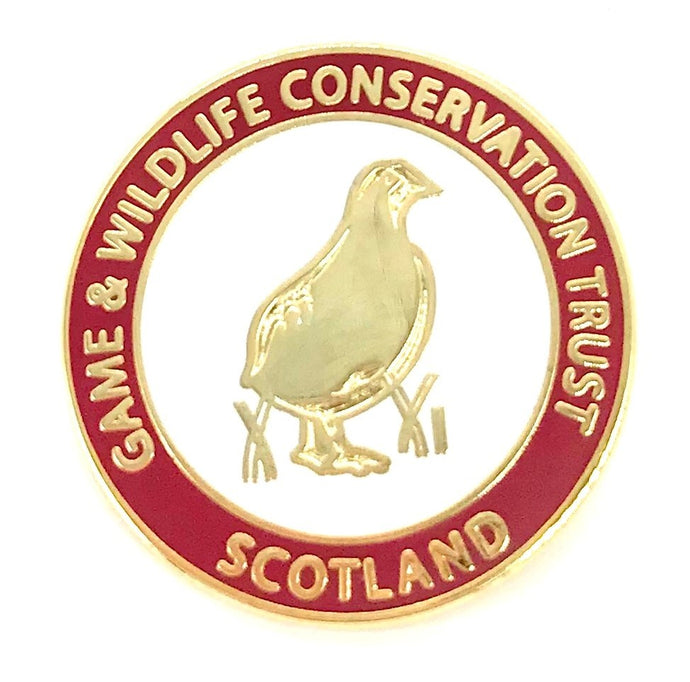 Rare GWCT Scotland Badge for sale – only 2 produced!