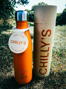 500ml GWCT Exclusive 'Burnt Orange' Chilly's Bottle