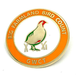 GWCT Big Farmland Bird Count Badge