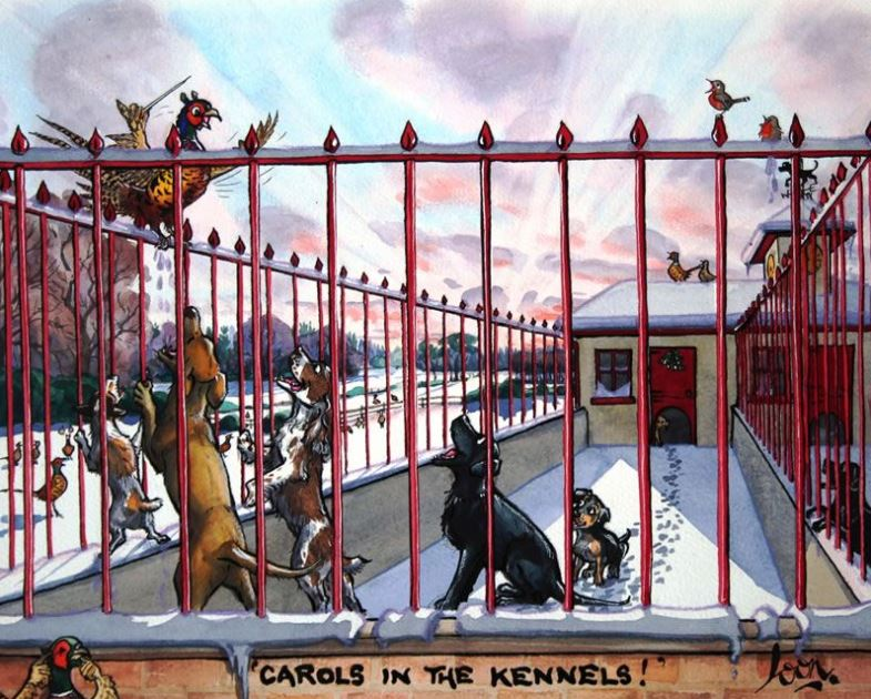 Carols In The Kennels by Loon