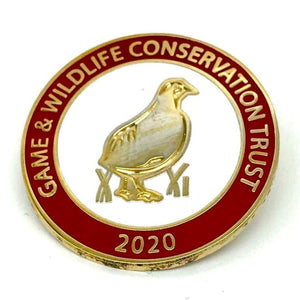 2020 GWCT Supporters Badge - Red