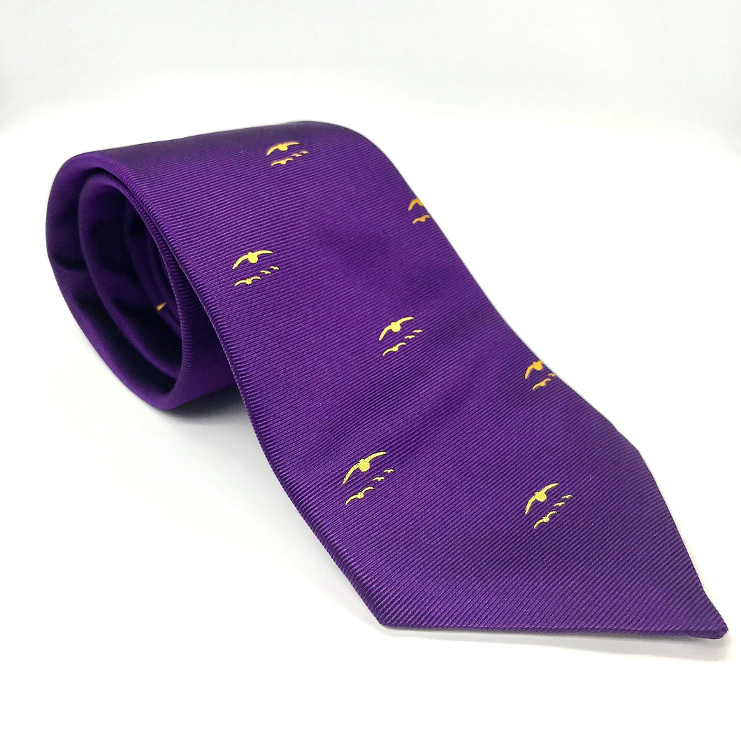 GWCT Purple Grouse Covey Motif Tie