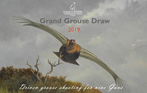 2019 Grand Grouse Draw Raffle Tickets