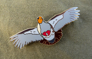PARTRIDGE Project Enamel Pin Badge