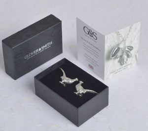 Pewter Pheasant Cufflinks