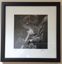 Load image into Gallery viewer, 'Eject' - Fieldsports Photographic Print by Rachel Foster