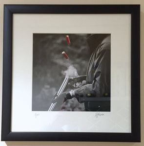 'Eject' - Fieldsports Photographic Print by Rachel Foster