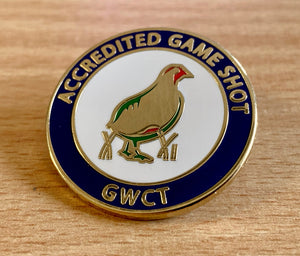 GWCT Accredited Game Shot Badge