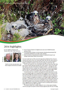 GWCT Annual Review 2016