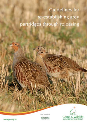 Guidelines for re-establishing grey partridges through releasing - ebook