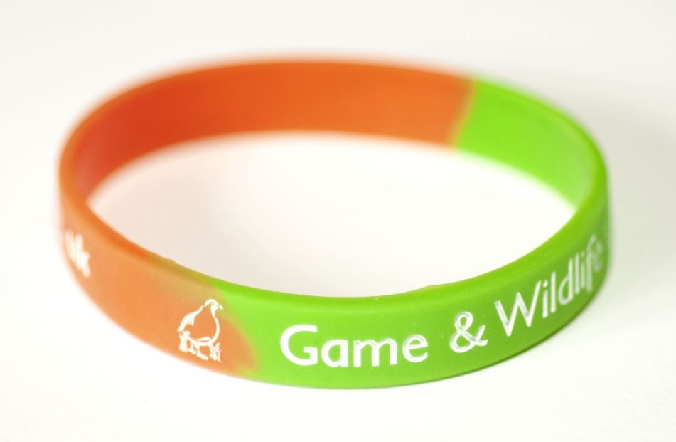 New GWCT Silicone Wristband