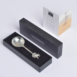 Squirrel Pewter Spoon