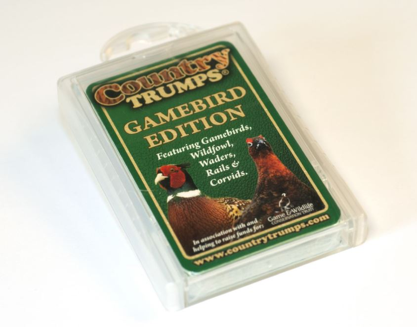 Country Trumps Cards - Gamebird Edition