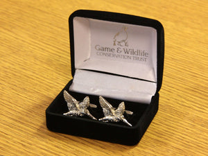 GWCT Woodcock Cufflinks
