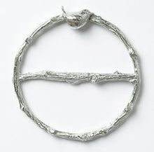Load image into Gallery viewer, Wren Pewter Scarf Ring