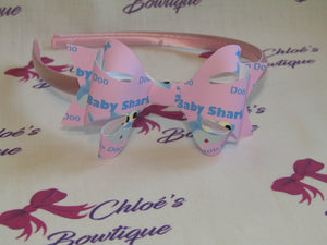 Pink Baby Shark Alice Headband