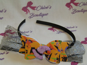 Orange Witches Hat Alice Headband