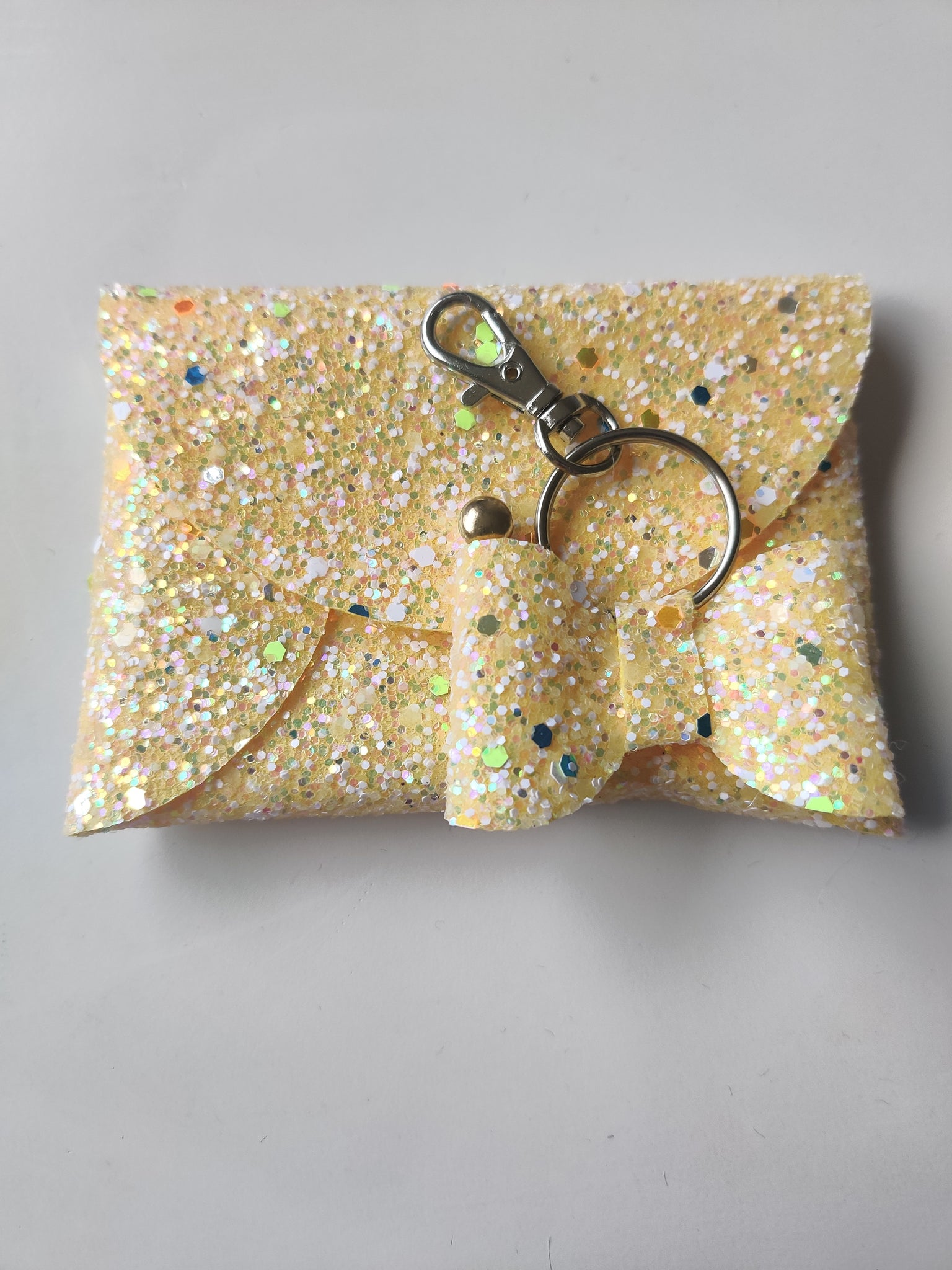 Light Yellow Purse & Keyring Bundle