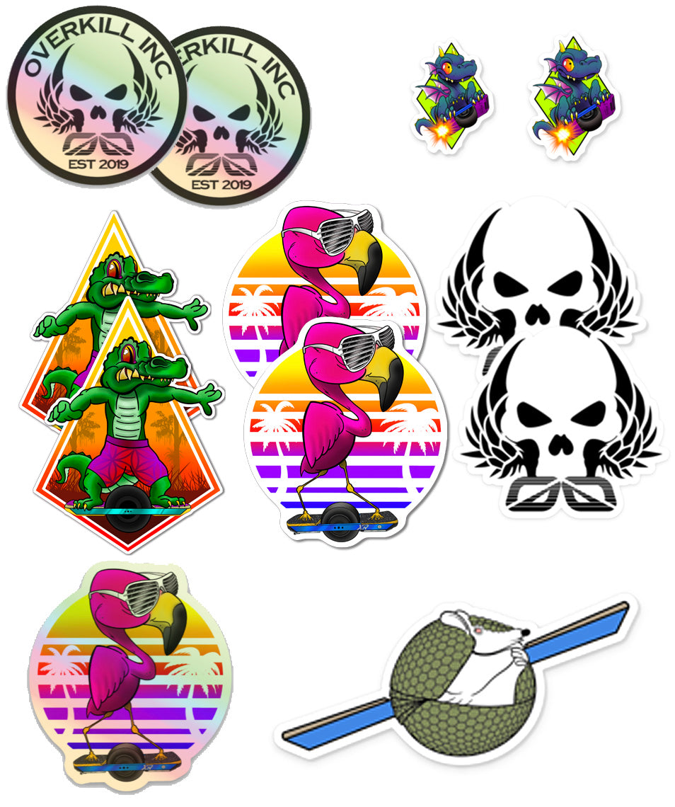 Armor-Dilloz Sticker Pack