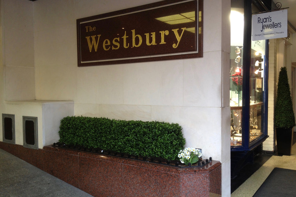 The Westbury Hotel Artificial Boxwood Hedging - Trees Company