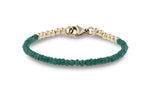 Eva Emerald and Gold Bracelet