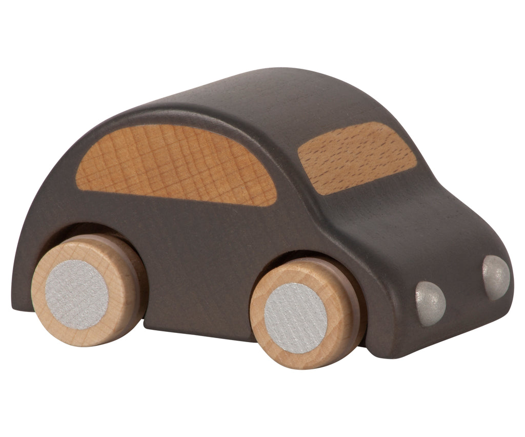 Maileg Wooden Car, Anthracite