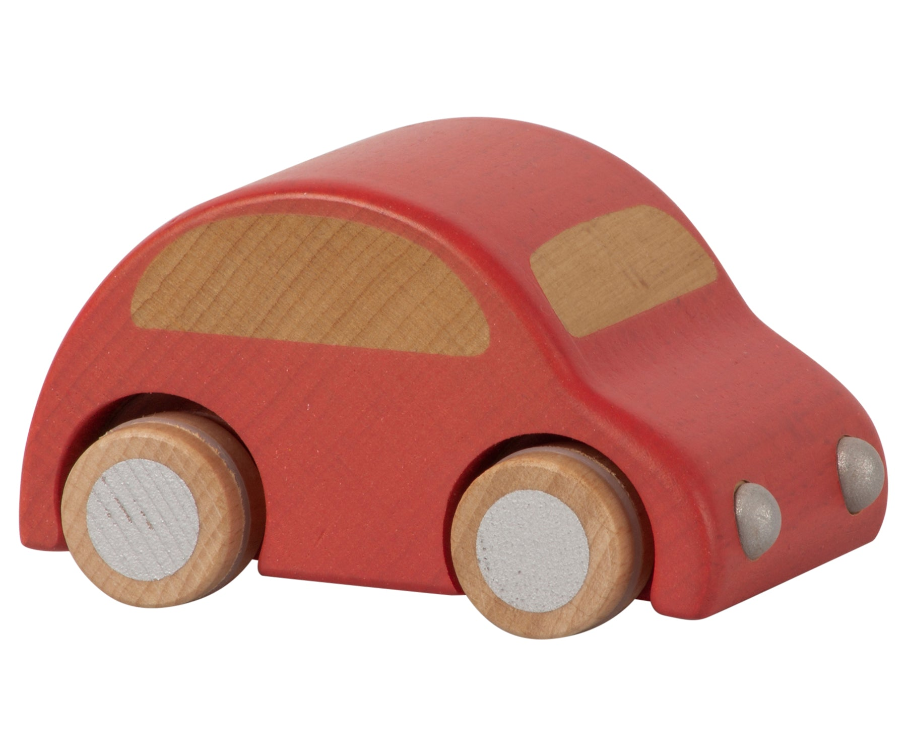 Maileg Wooden Car, Red