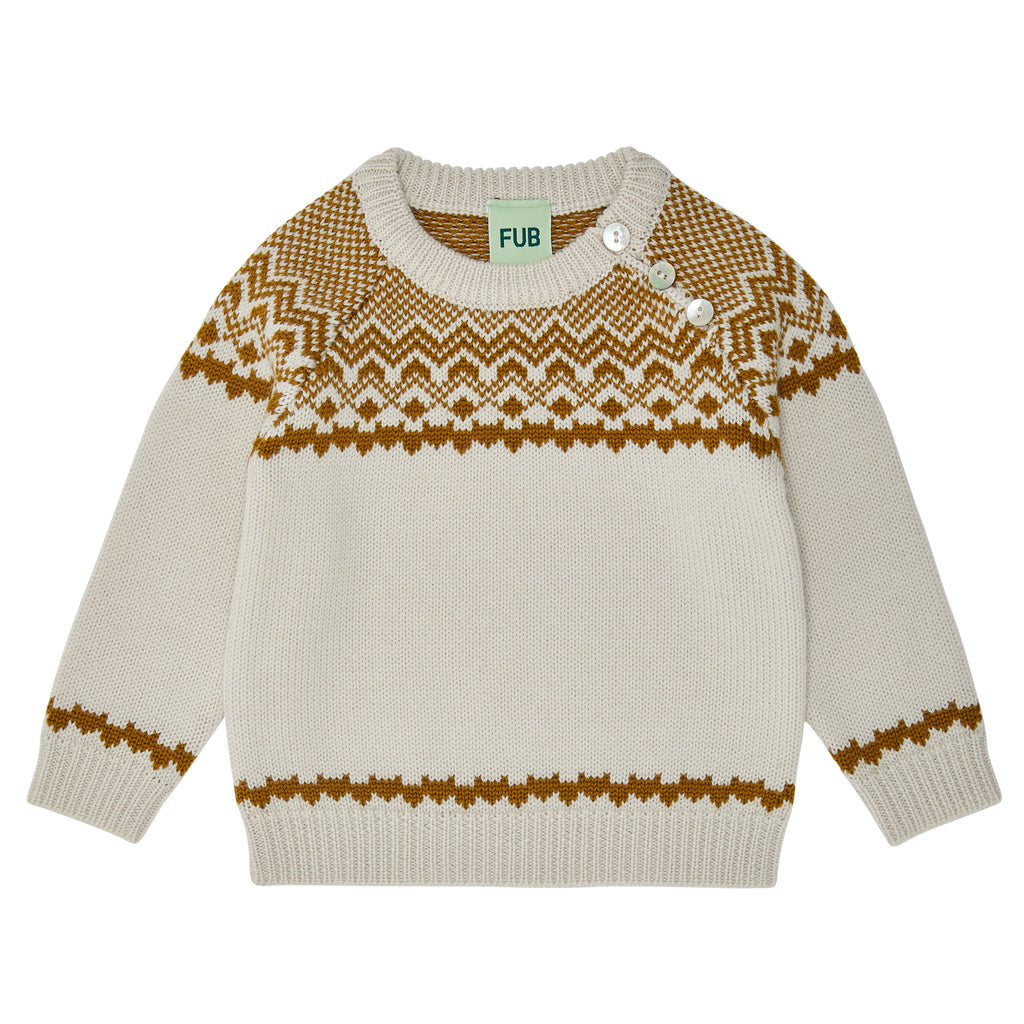 FUB Baby Nordic Sweater Sienna