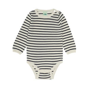 FUB Baby Body Ecru/Dark Navy