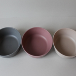 "Cink Bamboo Bowl ""Fog / Beet / Ocean"" set of 3"