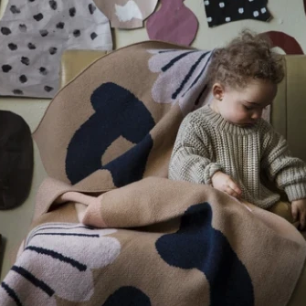 Igor Wool Blanket - Shapes
