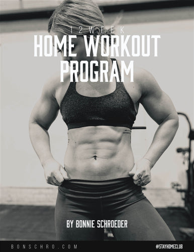Bonschro - 12 Week Home Workout Program