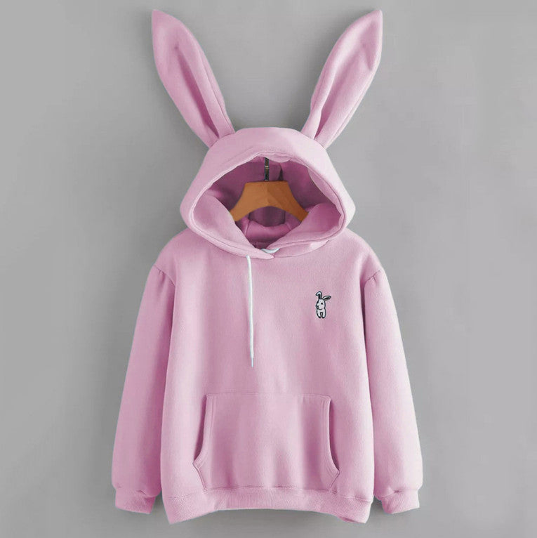 Cherry Blossom Bunny Pastel Goth Hoodies