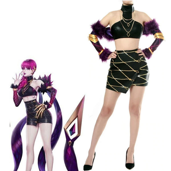 Evelynn Pop Star Diva Pastel Goth Cosplay Set