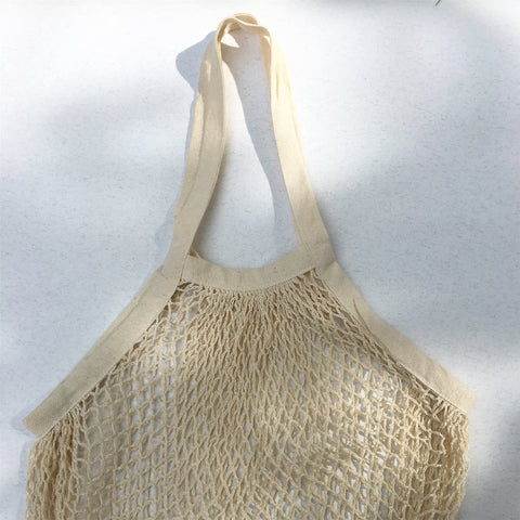 Crochet Tote, Natural