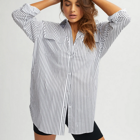 Stripe Beach Blouse