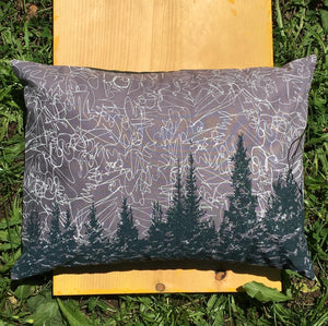 Balsam Pillow, Night Sky 11x15""