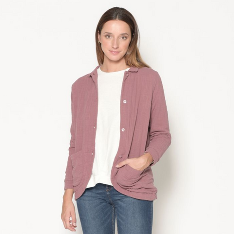 Aubergine Lined Jacket