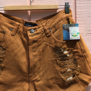 Native Story Slasher Short, Brown Rust