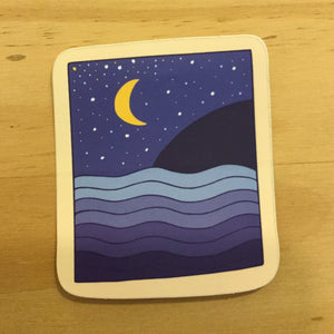Night Ocean, Sticker