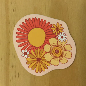 Sticker, Flowers