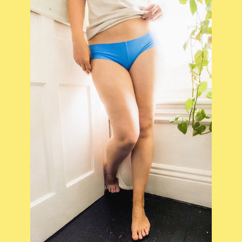 Boy Bottom Undies- Blue Bell