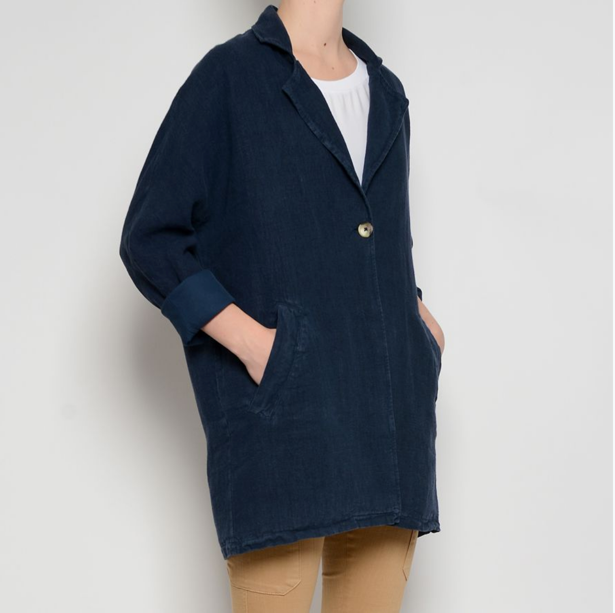 Jacket, Marine Blue