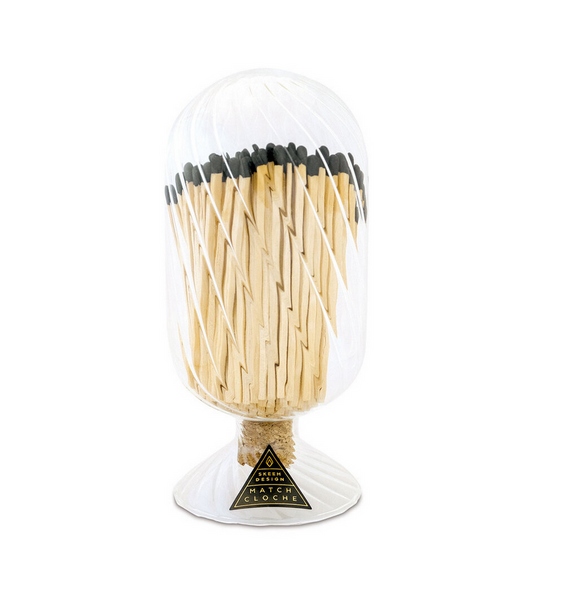 Ribbed Match Cloche, Small