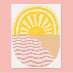 Greeting Card, Sending Sunshine