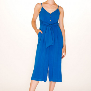 Nina Playsuit, Blue