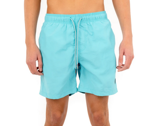 Essential Beach Trunks, Teal